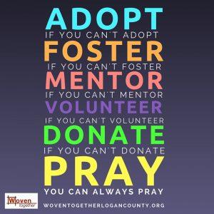adopt foster pray